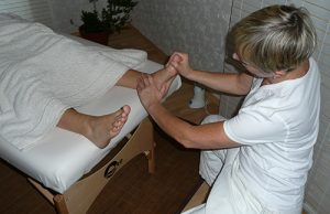 Fussreflexzonenmassage